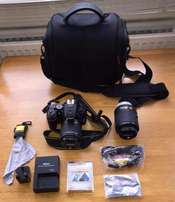 Nikon D5500 DSLR Camera with Twin Lenses for sale