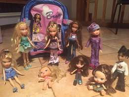 Bratz Doll collection with accessories & bag