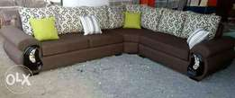 L shapped sofa and normal seats