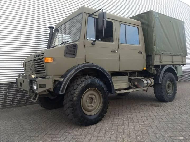 Unimog U1550L Doka - 2000