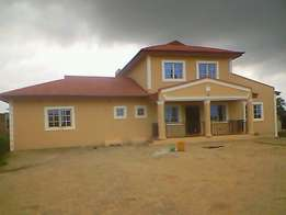 Newly Built 4 Bedroom Duplex on 2 Plots of Land