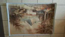 Oil painting large for sale