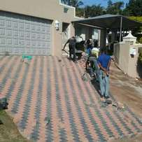Paving and tar driveways