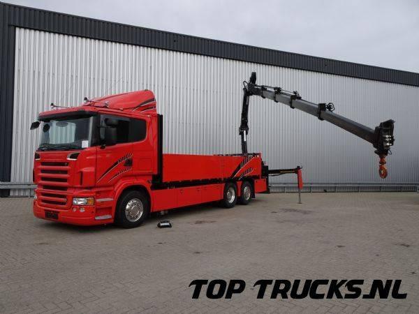 Scania R420, 6x2 Hiab 12 TM, lift- stuuras, Lift- lenckasche, Li... - 2006