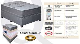 Bed & Base Queen size- Spinal Contour