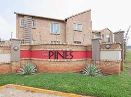 A two bedroom apartment is up for rent in centurion at the pines 01/06