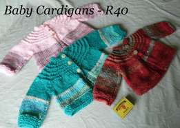 New knitted baby clothes
