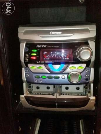 Pioneer 3 cd + 2 cassete fm /am
