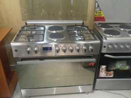 Both gas and electric cooker