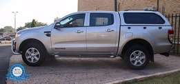 2012 Ford Ranger 3.2 TDCI XLT 4X4 Double Cab - Canopy