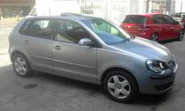 Vw polo 1.6 silver in color automatic 2007 model 95000km R92000