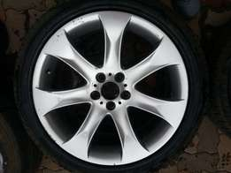 BMW e46 330 mag with tyre
