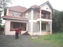 Syokimau 4br house own compound at 13M