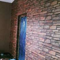 Sleek wall papers available. Fracan Wallpaper Ltd Abuja