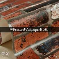 Clay brick wallpapers. Book us Now.