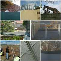 Fence, Gate, Palisade, Electric Fencing