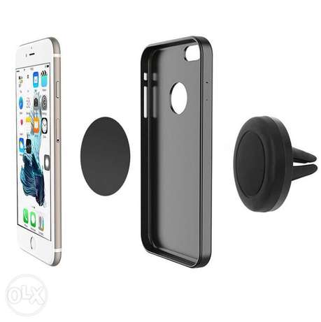 360 Degree Universal Car Holder Magnetic Air Vent Mount for Smartphone Nairobi West - image 1