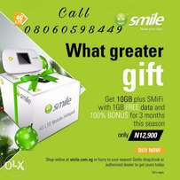Smile Superfast Internet Services Mifi Device