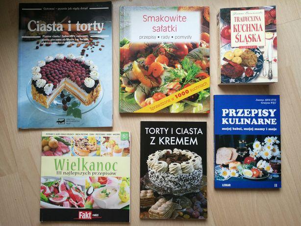 Książki Kulinarne Torty Ciasta Sałatki Kuchnia śląska