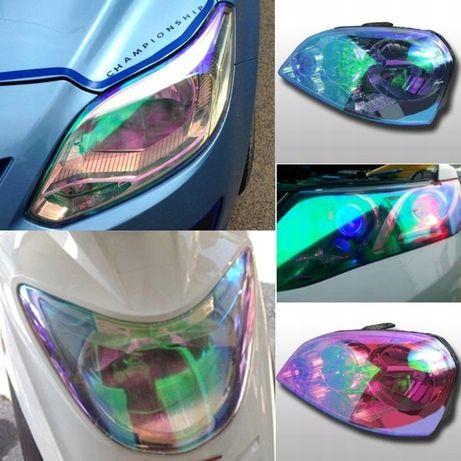Folia Przyciemnianie Lamp Lampy 30x50 Kameleon Zielona Sklep