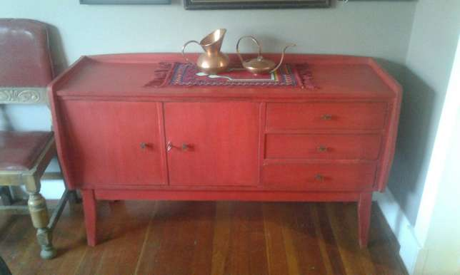 Red Retro sideboard Randfontein - image 1