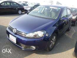 Buy This Neat Blue VW GOLF 2011, 1400cc. Only 1.23m