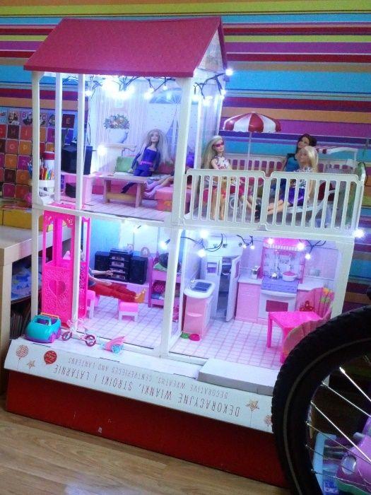 Domek Barbie-La Casa Villa Terrasse Mattel Racibórz • OLX.pl