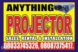 Buy and Rent Projector