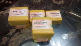Bentonite clay soap with papaya and turmeric