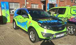 Awesome Vehicle Branding/ Wrapping Vehicle wraps attract customers