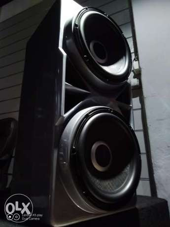 Dubal subwoofers ifinity cappa 1000 rms