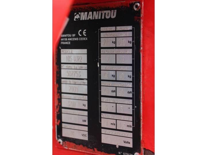 Manitou 105VJR2 - 2005 - image 6