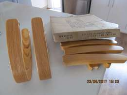 Wooden Office Chair Arms & Legs
