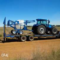 low bed truck looking for load