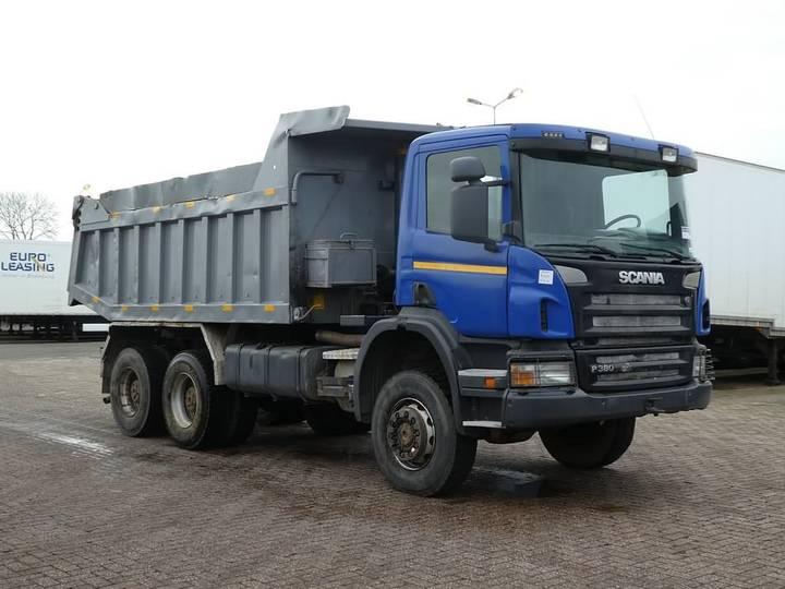 Scania P380 6x6 full steel 16m3 - 2008