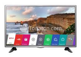 "LG 32"" HD DVB t2 SATELLITE LED TV with 10% discount off free."