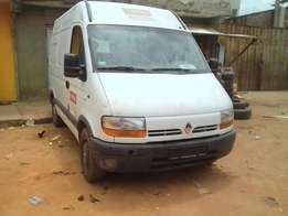 A clean tokunbo renault bus high roof for sale, panel body.
