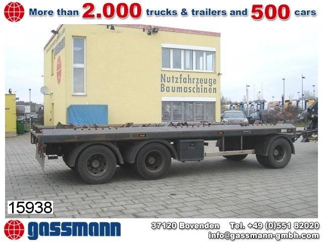 Andere SKELMSK ASM PA24, 2x Anh. f. Absetzcontainer - 2008