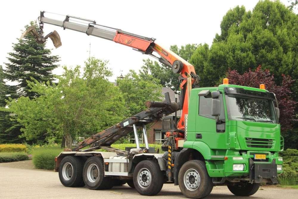 Iveco Trakker 8x4 Kraan/kabel! - 2007