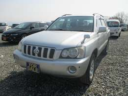 Toyota Kluger 2002 (Only Used in Japan)