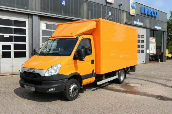 Iveco Daily 70C17/P Koffer Ladebordwand - 2013