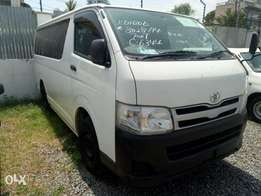 Toyota hiace automatic diesel 2011 model