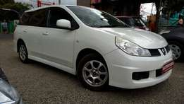 Nissan Wingroad, Pearl White, Year 2009, 1500cc, Automatic transmissio