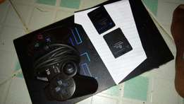 chipped play station 2. in good condition