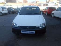 opel corsa lite 1.4 hb 2003 model white colour