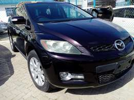 Mazda Cx-7 purple