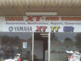 Yamaha XT repairs, rebuilds, used parts