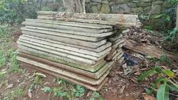 Approx. 40 Concrete Slats for sale. R20 per piece