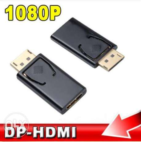 Display Port DP Male To HDMI Female