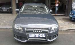 Audi A4 2.0T sedan 2011 model DSG grey in color 138000km R138000